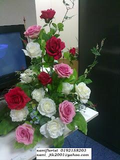 Nani Florist Jambangan Bunga Artifical Menghiasi Di Setiap Gubahan Code Gb 05 Khas Untuk Pelamin Hiasan Ruang Tamu