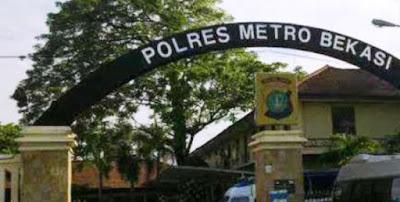 Salah Satu Anggota Polres Karawang di Ciduk Satres Polres Metro Bekasi