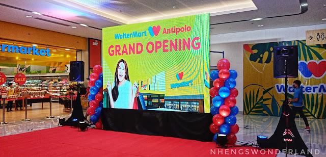 WalterMart Mall Antipolo Grand Opening