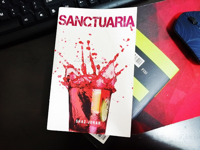 Review Novel Sanctuaria by Shaz Johar