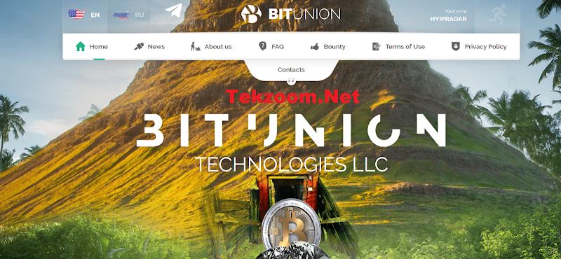 [SCAM] Review Hyip BitUnion.Top [US] - Lãi từ 9% hằng ngày - Thanh toán Manual