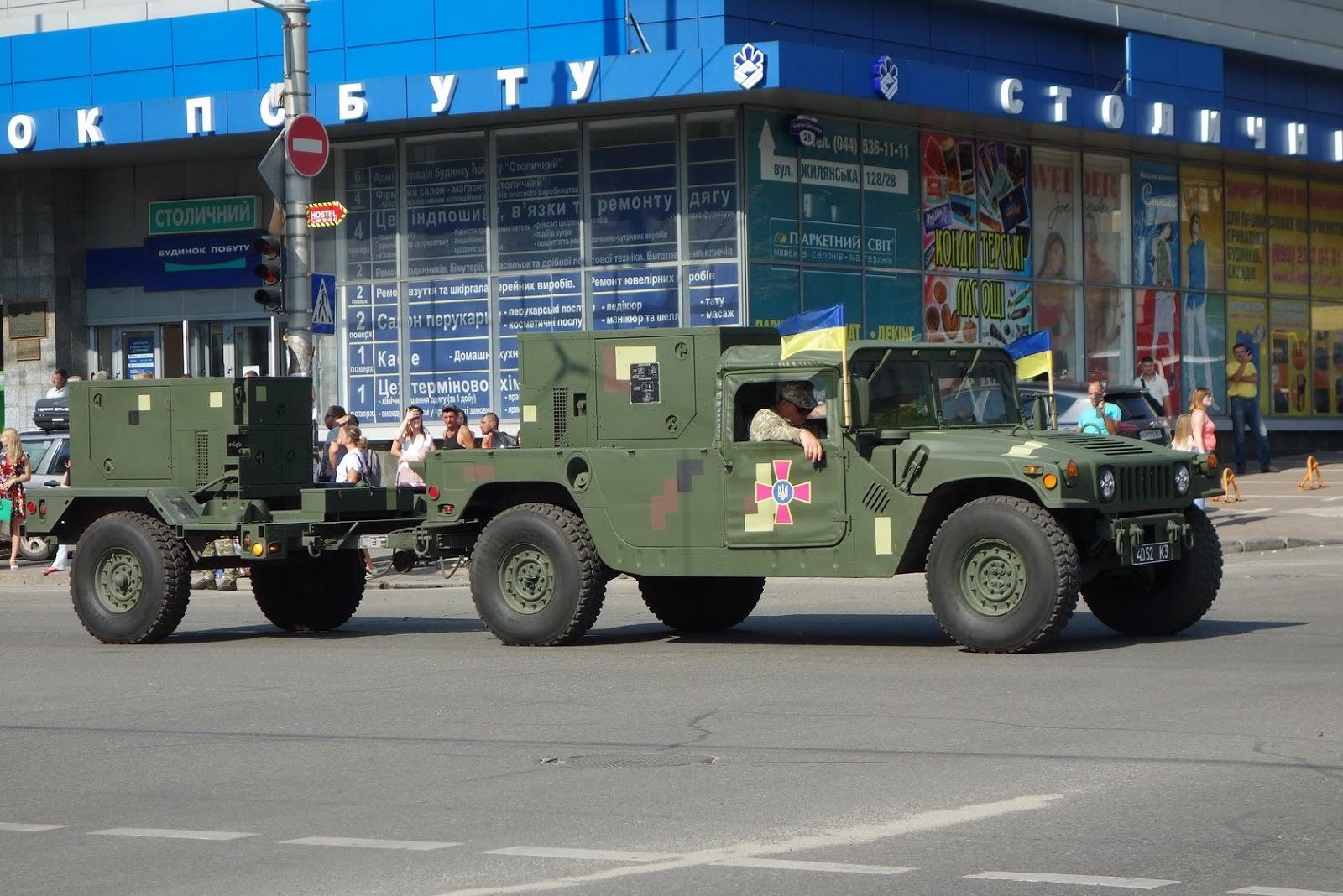 HMMWV AN/TPQ-36 М1097 4052 K3