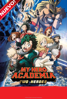 My Hero Academia Two Héroes 2018 DVD R1 NTSC Latino