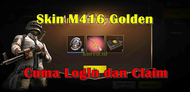 Cara Mendapatkan Skin M416 Golden Gratis Event Puzzles For Gifts