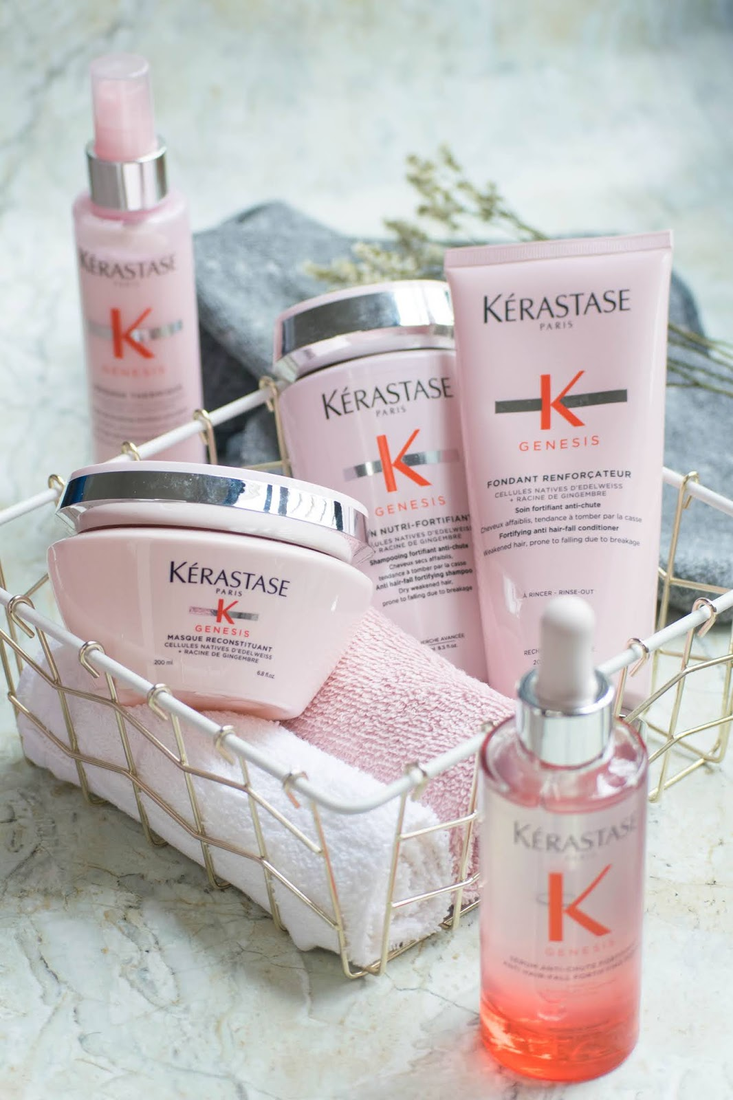 review kerastase genesis