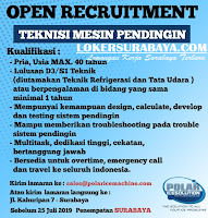 Open Recruitment at Polar Ice Solution Surabaya Terbaru Juli 2019