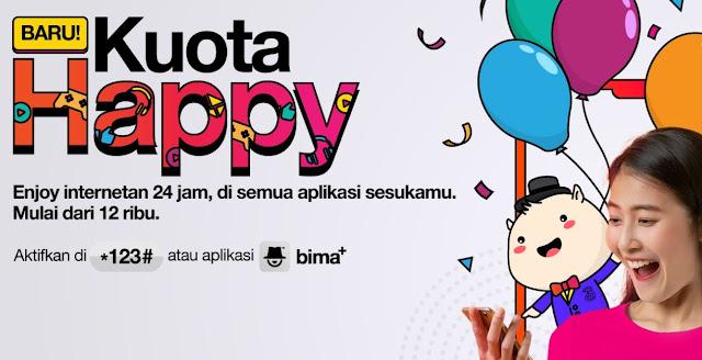 Kenalan Dengan Paket Kuota Happy Baru Dari Tri Indonesia