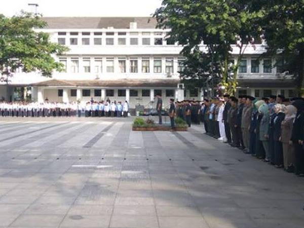 Upacara Hari Lahir Pancasila di Balai Kota Bandung