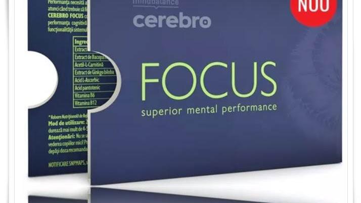 Pareri CEREBRO FOCUS supliment cresterea memoriei. Info prospect, preturi nootropic natural.