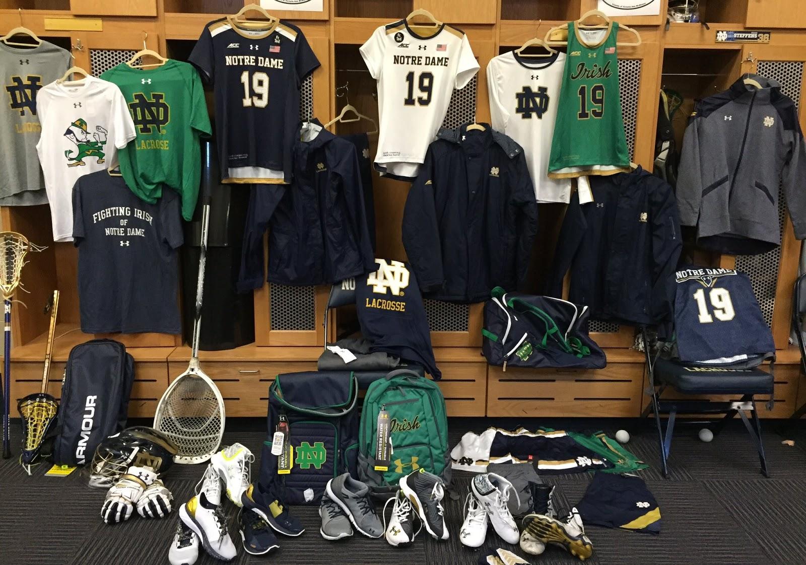 dorado Accor Industrializar  JIM SMALL'S NOTRE DAME GO IRISH BLOG -- www.NDGOIRISH.com -- A NOTRE DAME  BLOG: Under Armour Gear For Notre Dame Athletes