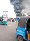 Popular Ogbogonogo Market Asaba On Fire (Video)