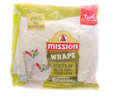 Mission wraps aceite de oliva