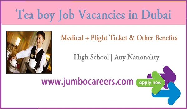 Dubai office jobs with benefits, Available job vacancies in Gulf countries,