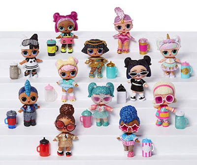 Имена игрушек L.O.L. Surprise Sparkle Series