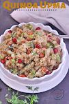 Quinoa Veggie Upma (Vegan & Gluten free)