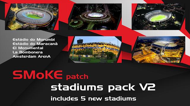 PES 2017 Stadium Pack untuk SMoKE Patch 9.3.3
