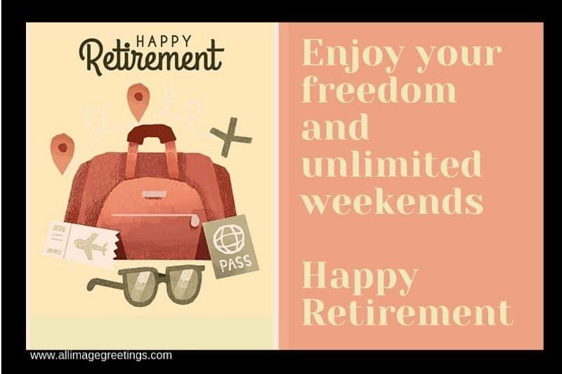Farewell image, retirement image