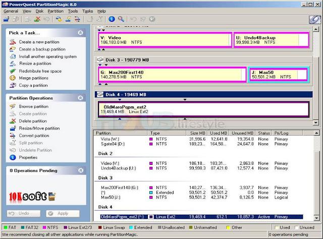Partition Magic 8 Plus direct Download Link