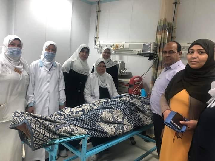 اجراء 31 عملية مجانية ضمن فعاليات مبادرة يوم في حب مصر بمستشفي ايتاي البارود العام لتقليل قوائم الانتظار
