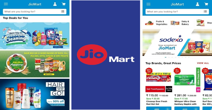 Reliance JioMart App for Android and iOS Launched In India