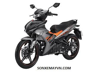 Bán Sơn xe máy YAMAHA EXCITER màu xám đen