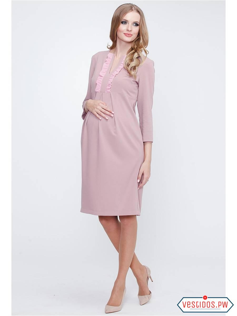 Vestido coctel para embarazada