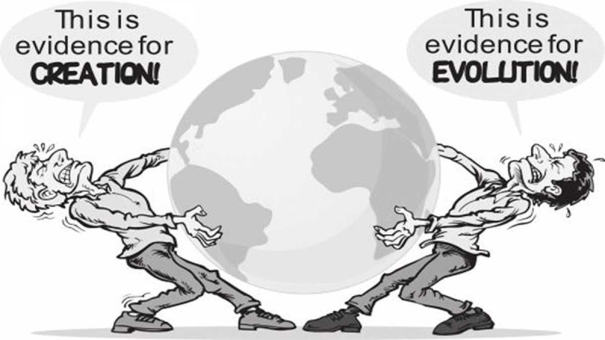 Briga entre criacionistas e evolucionistas