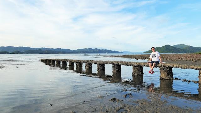 西貢泥涌殘橋