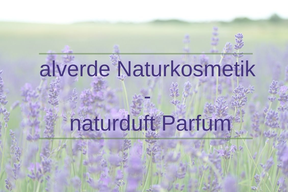 alverde Naturkosmetik - naturduft Parfum Duft Review