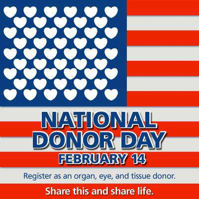 National Donor Day Wishes Images