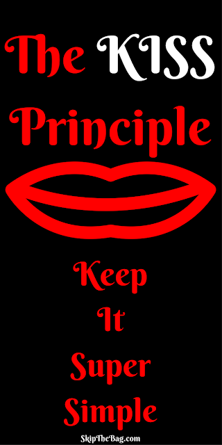 Keep It Super Simple. The KISS Principle. Don't make going zero waste harder than it needs to be. Use the KISS principle to make zero waste and plastic free living easy!