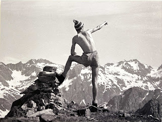 Tito Terzi photo 1962 - friend in the orobie
