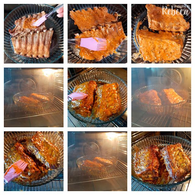 Receta de tacos de costilla ibérica: horneado