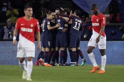 مباراة باريس سان جيرمان وموناكو بدون تشفير