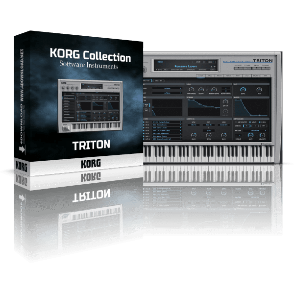 KORG TRITON v1.0.0 Full version