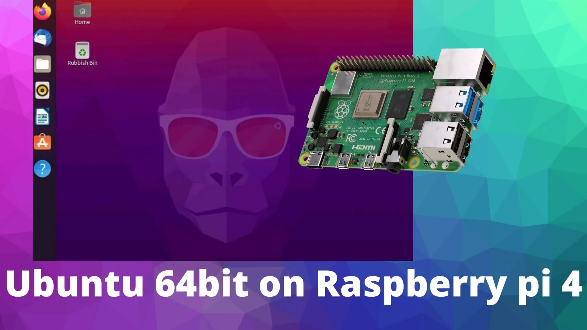 Ubuntu 20.10 for Raspberry pi 4 - Take it as it come