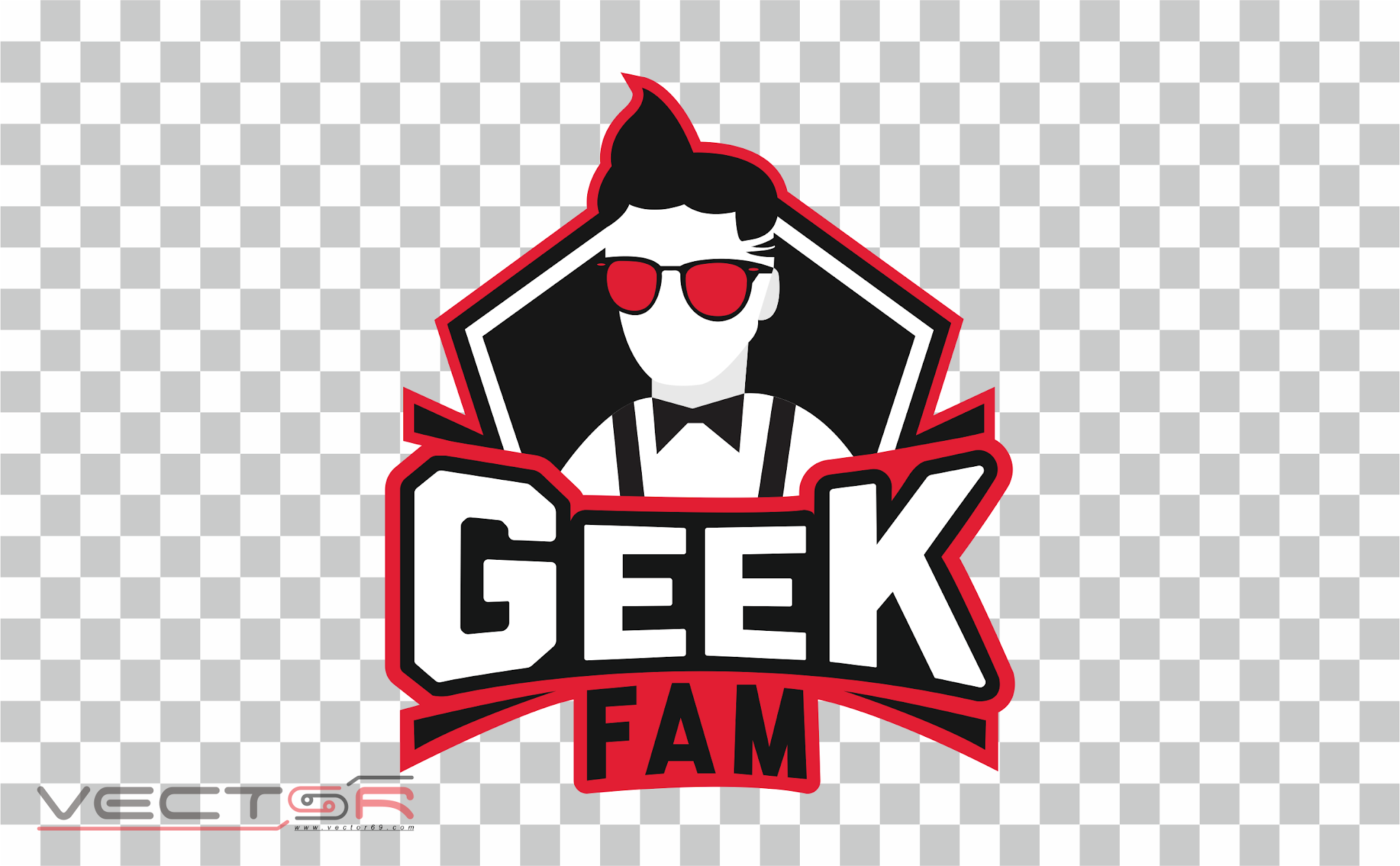 Geek Fam Logo - Download Vector File PNG (Portable Network Graphics)
