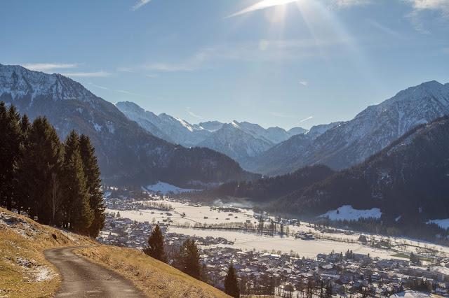 Schneeschuhtour tiefenbacher eck bad hindelang allgäu 04