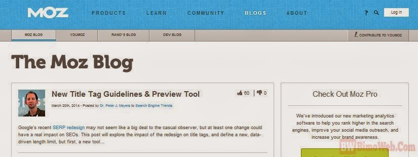 Title Tag Guidelines and Preview Tool for 2014