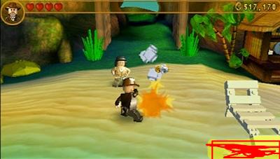 LEGO Indiana Jones 2 The Adventure Continues PSP
