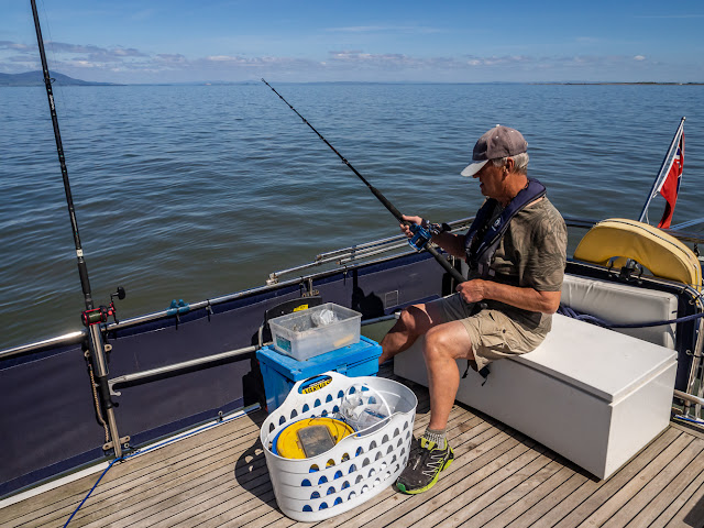 Photo of Phil fishing in Allonby Bay