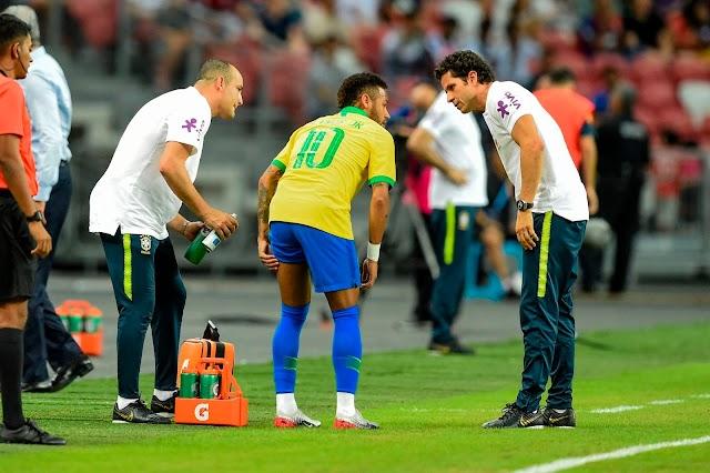 International Friendly; Nigeria Held Brazil To A 1-1 Draw