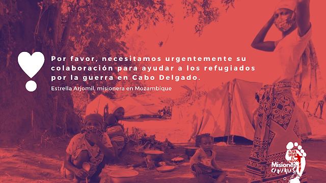 Refugiados Cabo Delgado