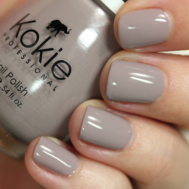 Kokie Cosmetics London Fog swatch