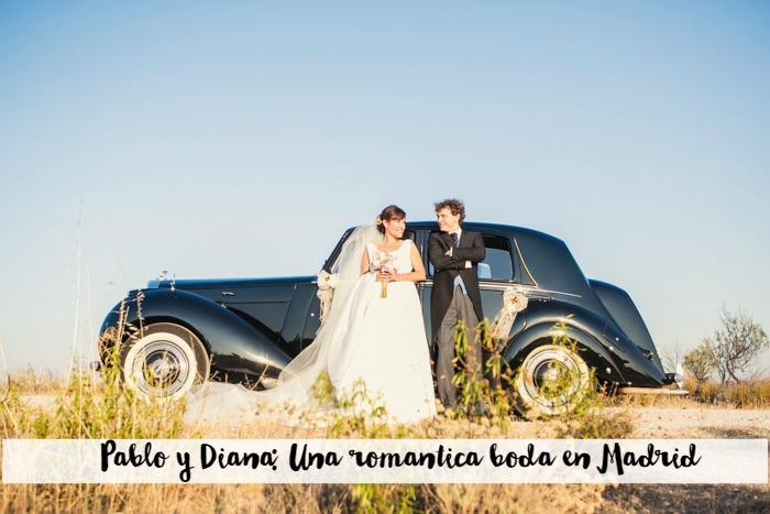 pablo y diana una romantica boda en madrid