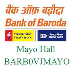 Vijaya Baroda Bank Mayo Hall Branch New IFSC, MICR
