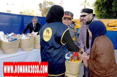 أخبار المغرب الملك محمد السادس يأمر بانطلاق توزيع الدعم الغذائي لرمضان