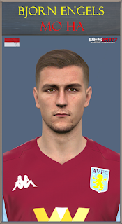 PES 2017 Faces Bjorn Engels by Mo Ha