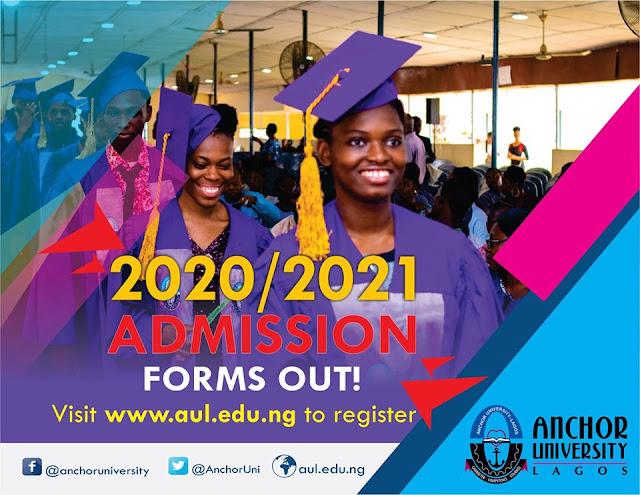 Anchor University JUPEB Admission Form 2020/2021 [200L Guaranteed]