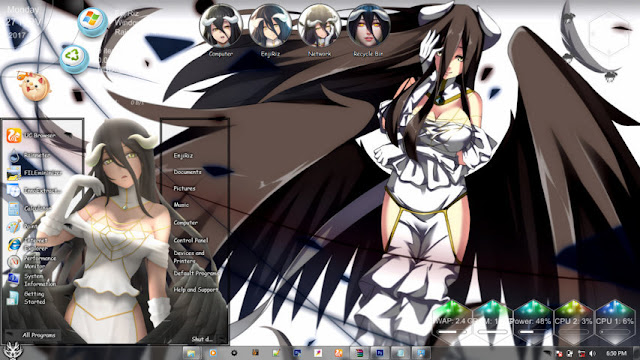 Overlord Theme Win 7 by Andrea_37